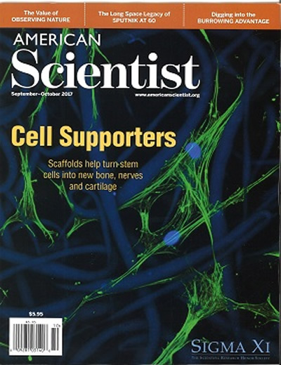 AMERICAN SCIENTIST - (6 ISSUES) $69.00