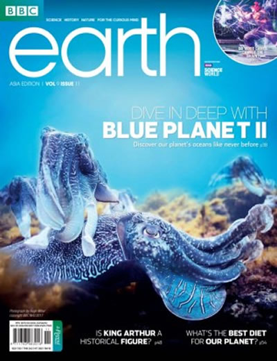BBC EARTH - (12 ISSUES) $77.00