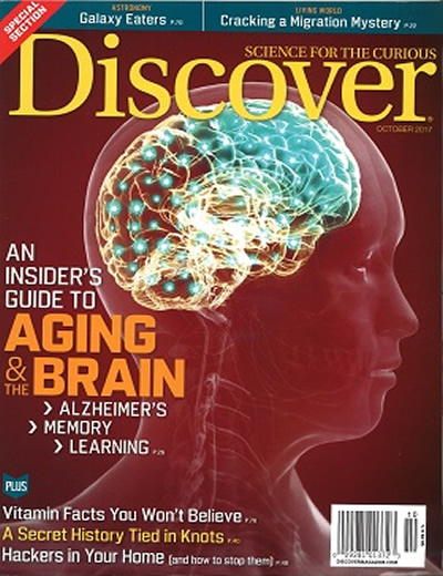 DISCOVER - (10 ISSUES) $139.00
