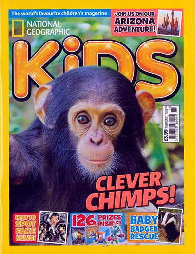 NATIONAL GEOGRAPHIC KIDS - (10 ISSUES) $60.00