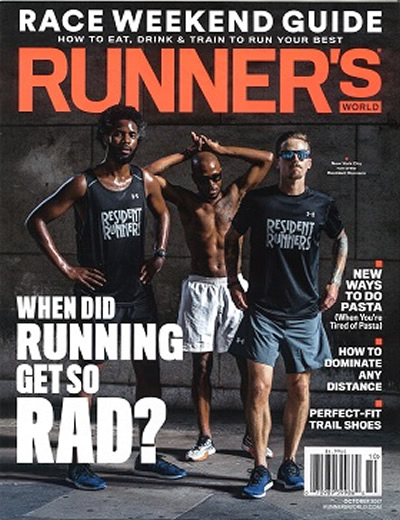 RUNNERS WORLD - (11 ISSUES) $115.50