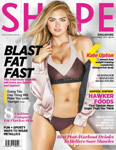 SHAPE (SINGAPORE) - (12 ISSUES) $72.00