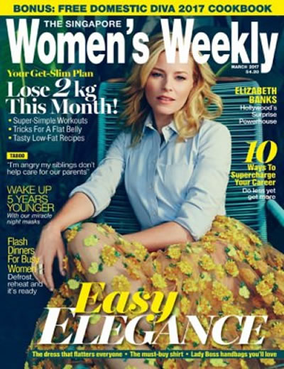 SINGAPORE WOMENS WEEKLY - (12 ISSUES) $50.40